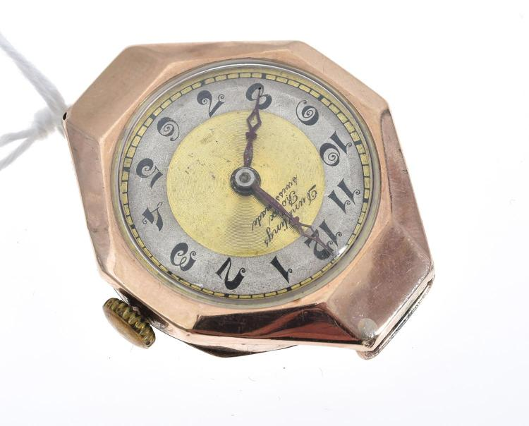 A DUNKLINGS ROLEX SWISS MADE WATCH CASE.