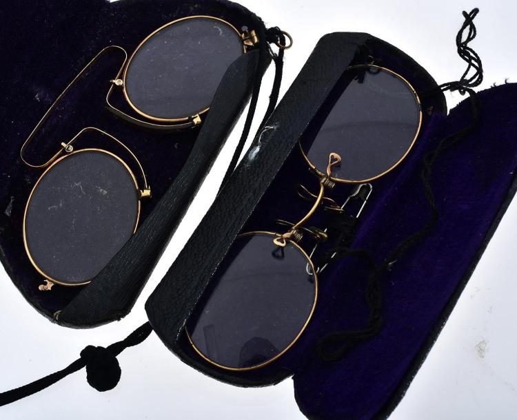 TWO PAIRS OF VITNAGE GLASSES
