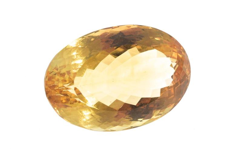 A LOOSE CITRINE
