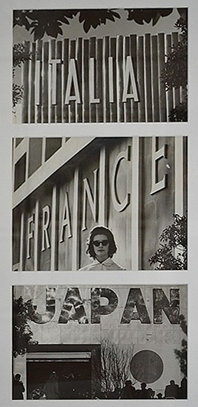 JEFF CARTER (1928-2010), Sydney Trade Fair, Italian, French and Japanese Pavillions vintage silver gelatin print (3), 16 x 24.5cm (e...
