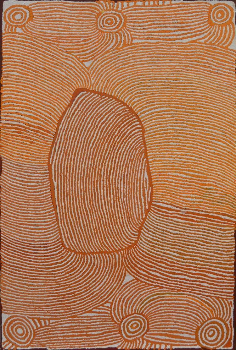 NANCY CARNEGIE Untitled acrylic on canvas