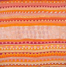 PATRICK OLOODOODI TJUNGURRAYI (c.1930-2017, Kukatja Language Group) Untitled 2008 synthetic polymer paint on canvas
