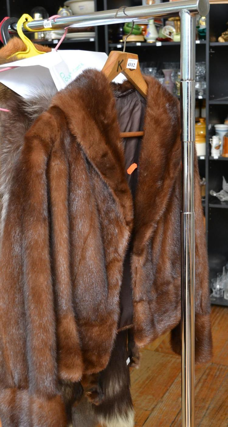 A LADIES MINK JACKET