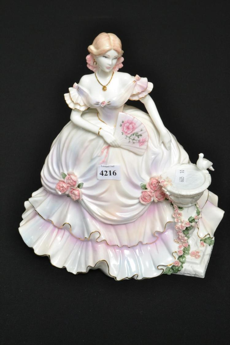 A COALPORT 'SECRET GARDEN' FIGURE