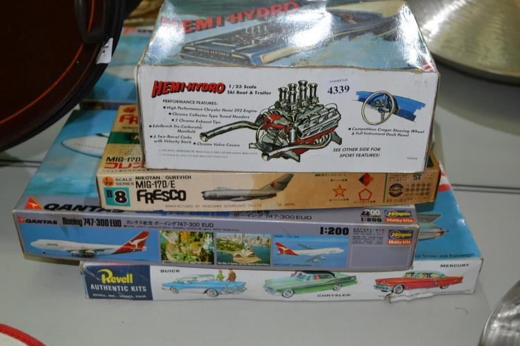 A COLLECTION OF JAPANESE TOY MODELS