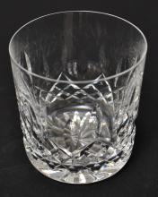 SIX WATERFORD 'LISMORE' OLD FASHIONED WHISKEY GLASSES