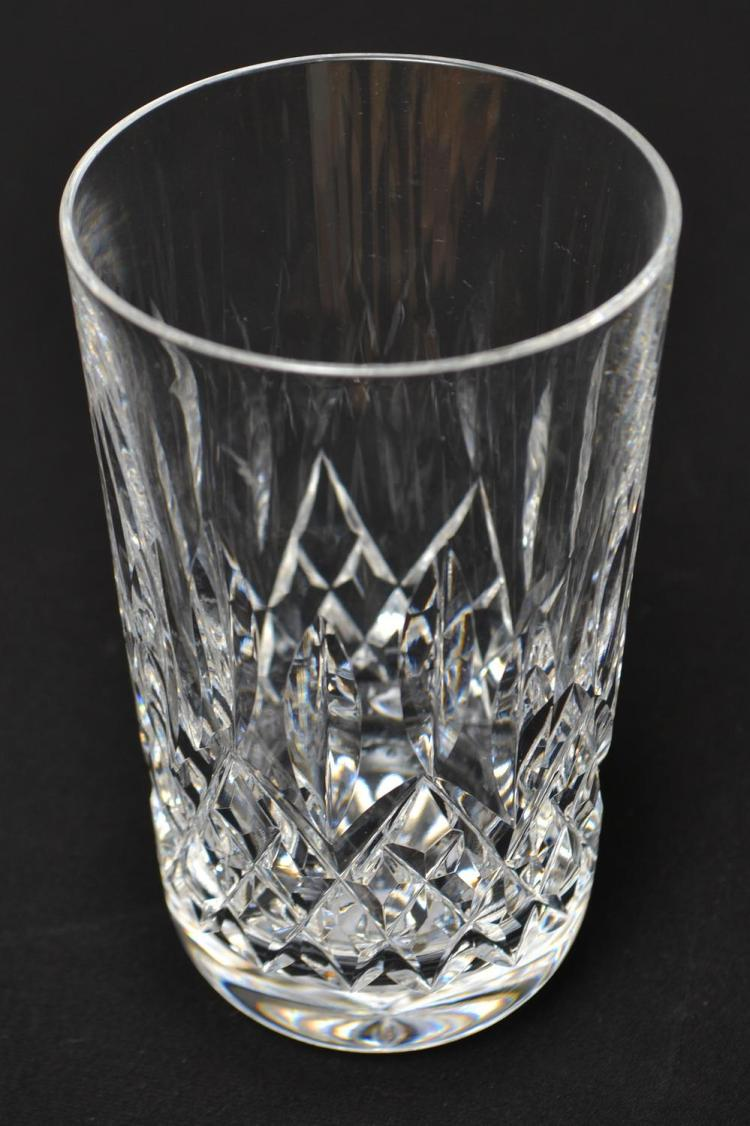 SIX WATERFORD 'LISMORE' WATER GLASSES