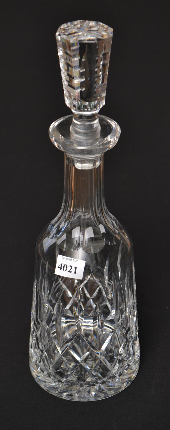 A WATERFORD 'LISMORE' DECANTER