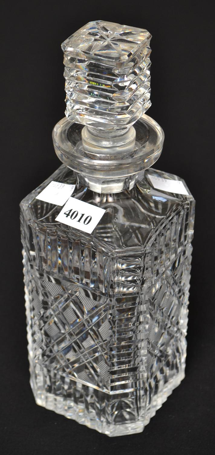 A WATERFORD DECANTER