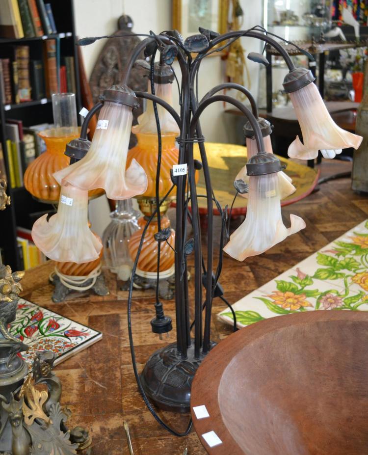 ART NOVEAU STYLE TABLE LAMP