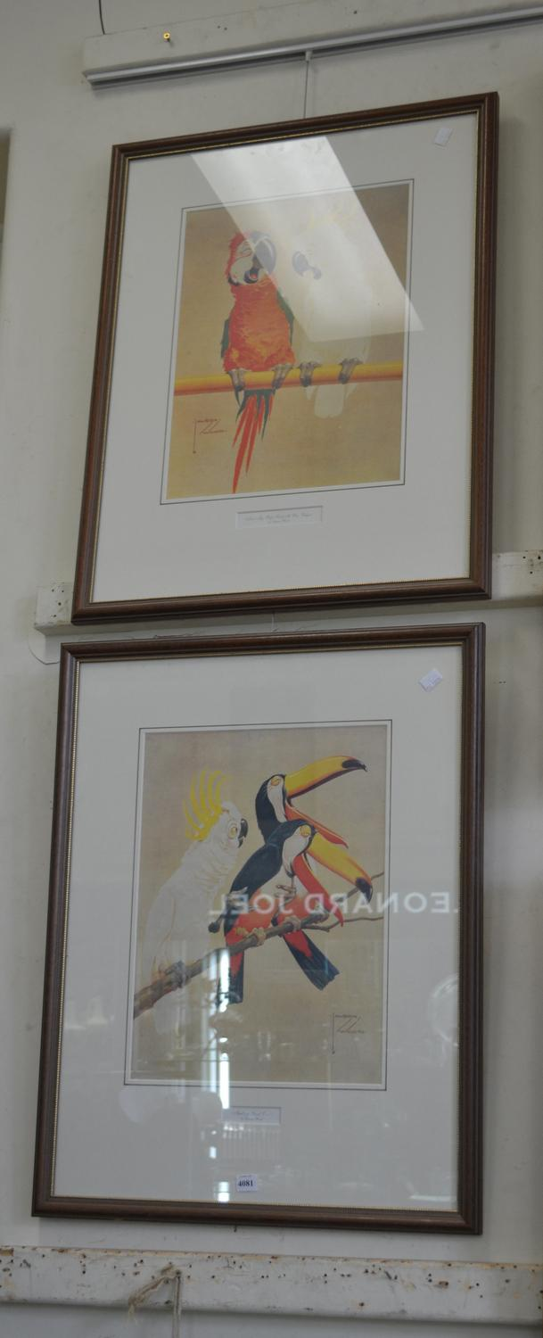 A PAIR OF FRAMED LAWSON WOOD PRINTS; 'THATS A GOOD ONE' AND 'MY WIFE SAID IT WAS VULGAR'