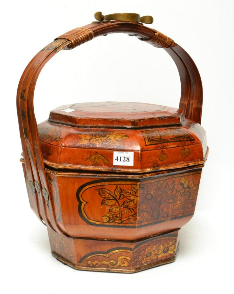 A 19TH CENTURY CHINESE WEDDING BASKET