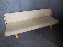 DANISH CIRCA HANS WEGNER (1914-2007) DAYBED back length 206cm