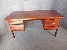DANISH SIX-DRAWER ROSEWOOD DESK 74 x1 50 x 74cm