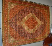 Super fine PERSIAN TABRIZ MAI carpet with most intricate designs, very finely and densly hand knotted carpet in extremely super cond...