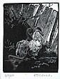 HELEN OGILVIE (1902-1993) The Emperor linocut 42/50, Helen Ogilvie, Click for value