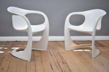 A PAIR OF CASALA CHAIRS