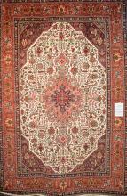 A PERSIAN TABRIZ AZARSHAHR RUG. RARE IN COLOUR AND DESIGN. 100% WOOL, DENSE PILE. NEW PIECE. ORIGIN- IRAN. 300 X 200CM. RRP $5900