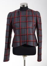 A CROPPED JACKET BY CHRISTIAN DIOR
