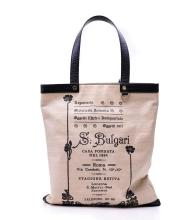 AN ELETTRA COLLECTION 1910 TOTE BAG BY BVLGARI
