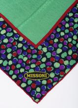 A SILK SCARF BY MISSONI