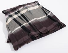 A SCARF BY BURBERRY