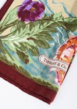 A SILK SCARF BY TIFFANY & CO.