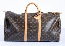 A KEEPALL 55 BAG BY LOUIS VUITTON