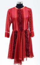 A DRESS BY LOUIS VUITTON