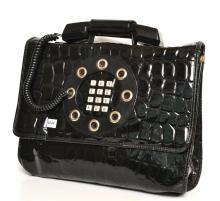 A DALLAS HANDBAG COMPANY 1970''S TELEPHONE BAG IN WORKING ORDER; GOOD CONDITION