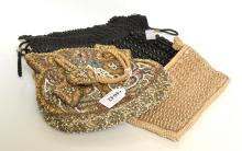 FIVE 1920''S PURSES, INCL. SEQUIN AND BEADWORK