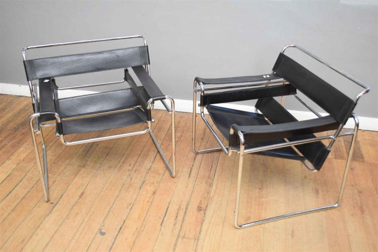 A pair of replica marcel breuer wassily chairs - Wassily chair replica ...