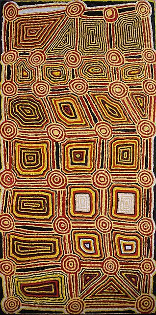 Fred Tjakamarra (1926-2006) (Untitled) acrylic on canvas