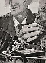 STANKO ABADZIC (CROATIAN, BORN 1952) The day of important news, 2005 silver gelatin print