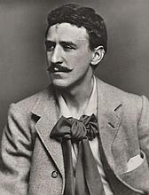 JAMES CRAIG ANNAN (SCOTTISH, 1864-1946) Portrait of Charles Rennie Mackintosh, circa 1900 silver gelatin print