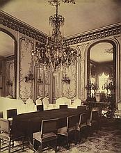 EUGENE ATGET (FRENCH, 1857-1927) Interior Versailles Palace albumen print