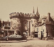 EDUARD BALDUS (FRENCH, 1813-1889) Untitled (Chateau), circa 1860s albumen print on card mount
