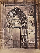 EDUARD BALDUS (FRENCH, 1813-1889) Untitled (Cathedral), 1860s albumen print