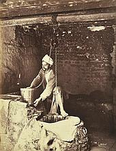 HENRI BECHARD (FRENCH, ACTIVE 1860S-1870S) i. Untitled (Arabian Tailoring Shop), circa 1869-75ii. Untitled (The Well), circa 1869-75...