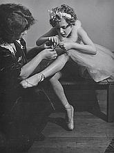 BRASSAI (GYULA HALASZ) (HUNGARIAN-FRENCH, 1899-1984) Untitled (Ballet Dancer), 1950s silver gelatin print