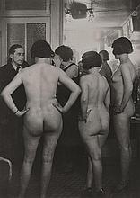 BRASSAI (GYULA HALASZ) (HUNGARIAN-FRENCH, 1899-1984) Introduction at Suzy's, 1932 silver gelatin print, reproduction photograph