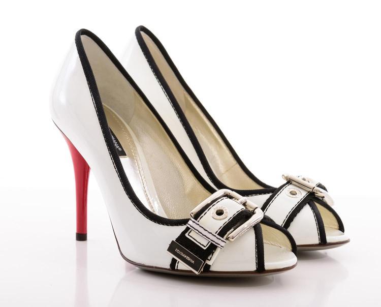 a pair of high heels