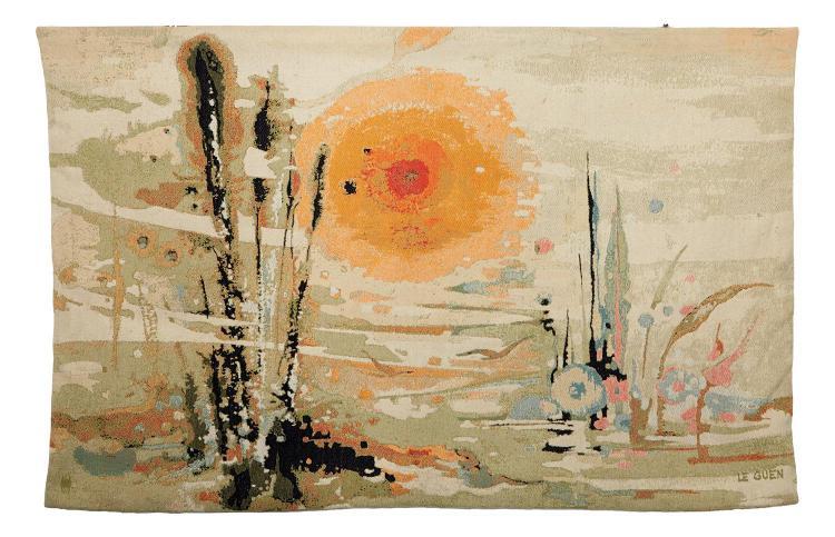 JEAN LE GUEN (French, born 1926) Vesperale hand-loomed wool