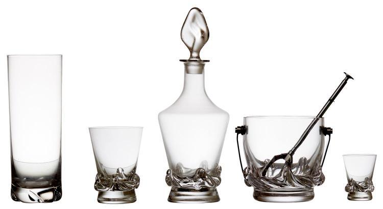 A SUITE OF DAUM ''SORCY'' GLASSES