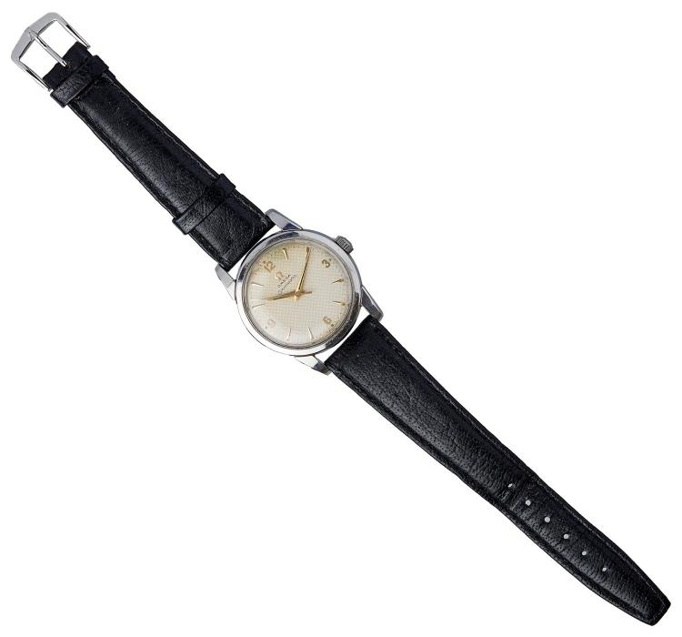AN OMEGA SEAMASTER WRISTWATCH