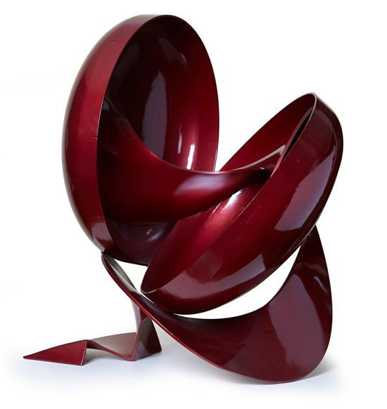 MICHAEL LE GRAND (born 1951) Messalina 2000 painted steel