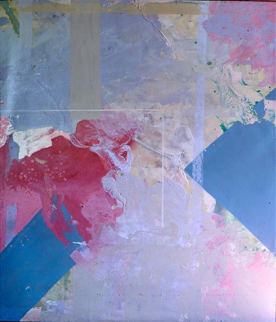 JUDY TRICK (born 1954) Soft Geometry acrylic on canvas