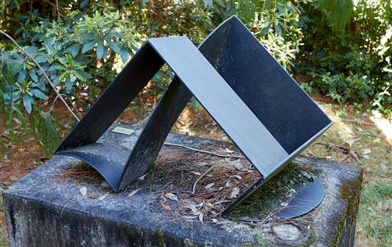 RUSSELL MCQUILTY (born 1951) Second Position 2001 steel