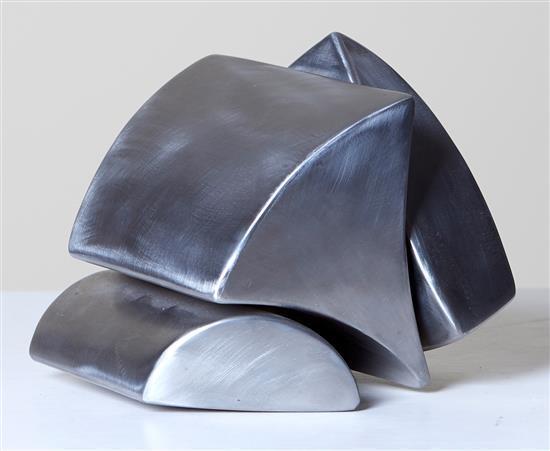 NIGEL HARRISON (born 1956) Wedge Wave 2000 stainless steel
