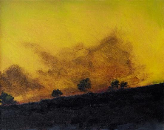 NEIL EVANS (born 1951) Altocumulus Lenticularis I 2003 acrylic on canvas
